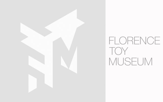 logo grigio about florence toy museum