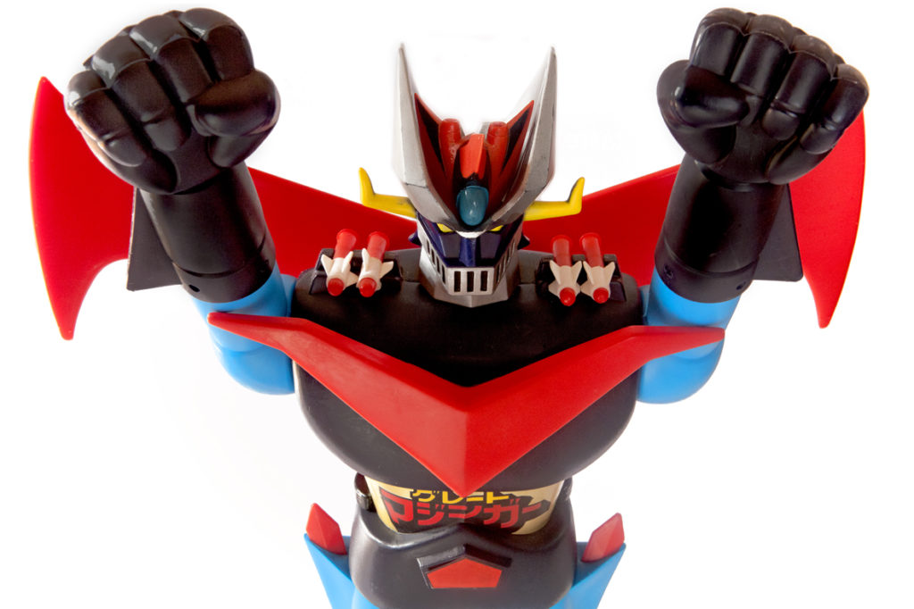 "Great Mazinger jumbo machinder ""Tall-Head"""