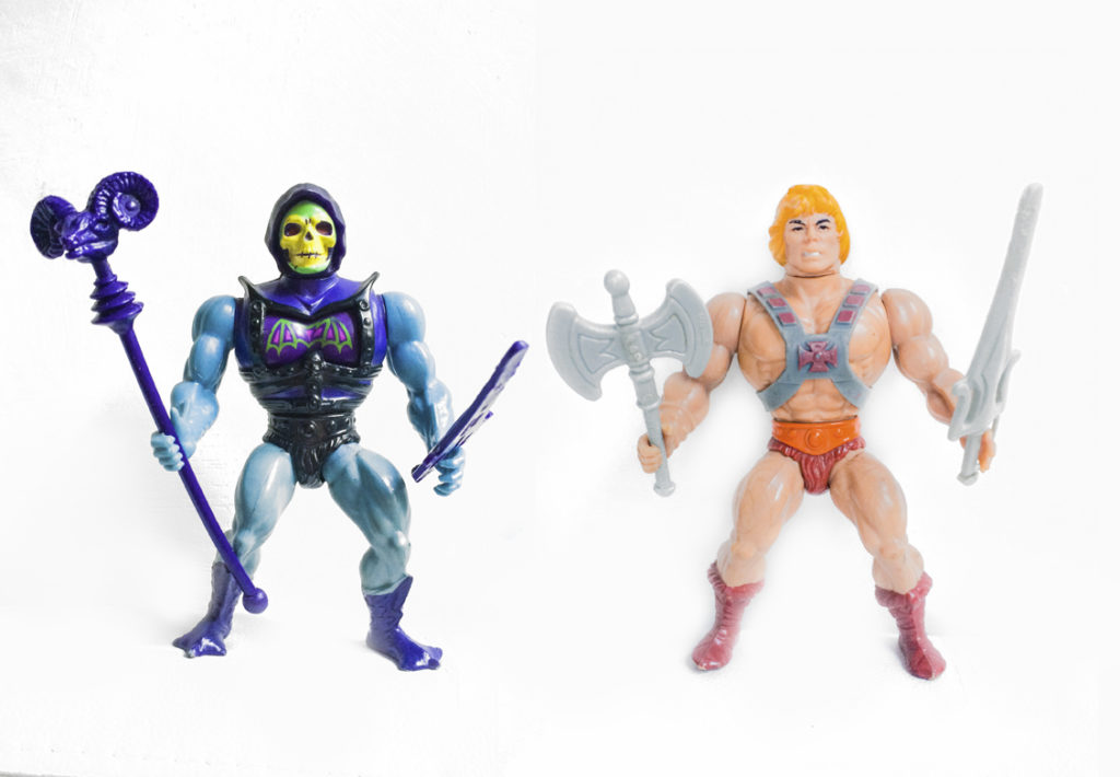 Masters of the Universe, 1981 Mattel, USA