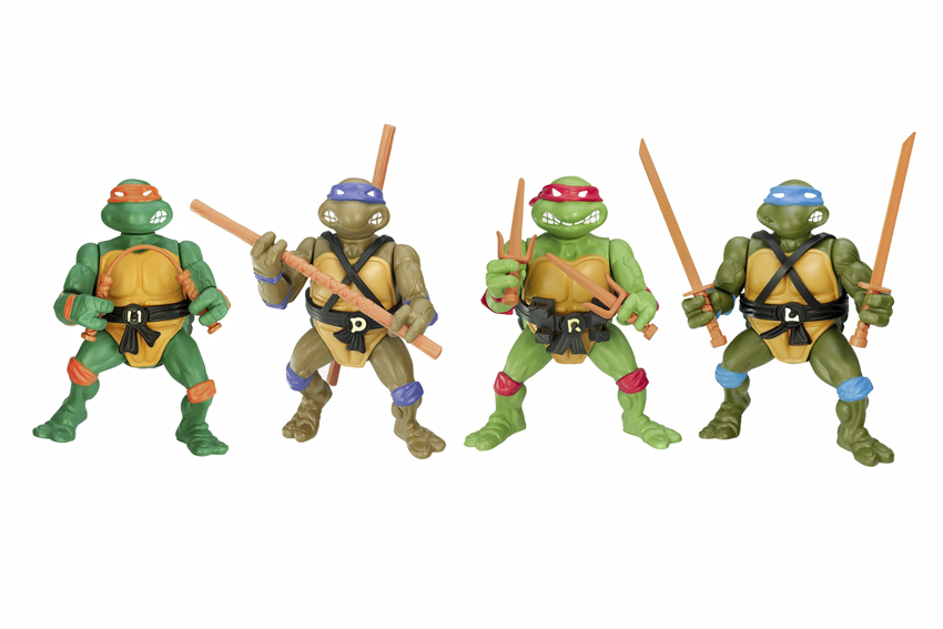 Teenage Mutant Ninja Turtles, 1988 Playmates, USA